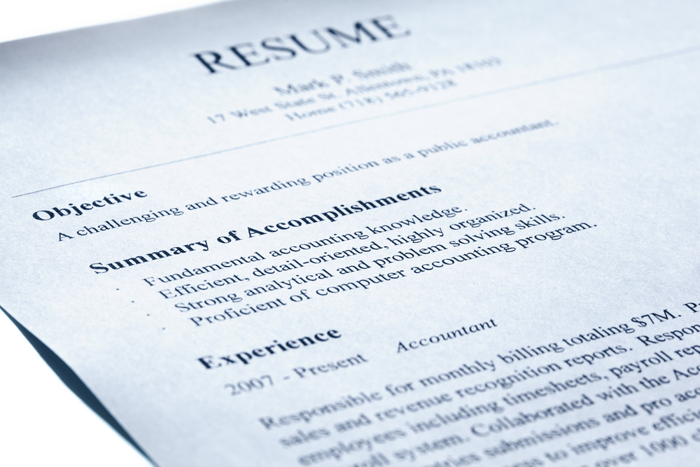 I am an idiot, Issue 9: Resumes -